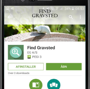 Find-gravsted