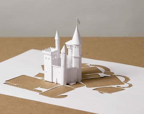 Peter Callesen tårn i papir