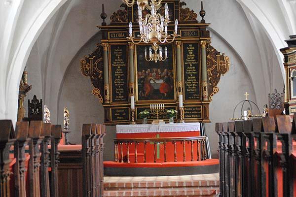 Hvalsø Kirke Alter