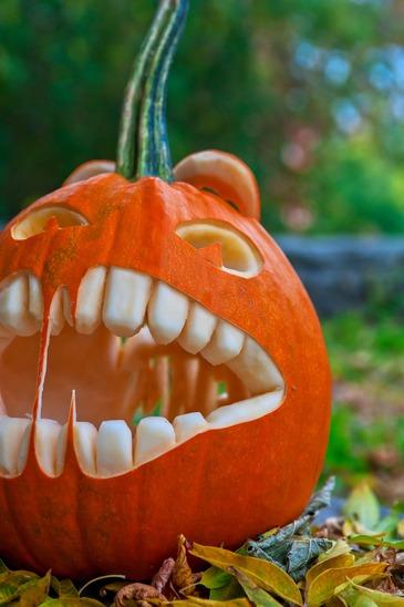 Halloween - Græskarhoved