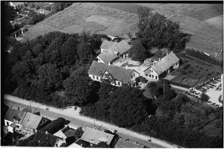 Hvalsø Kirke ca. 1949