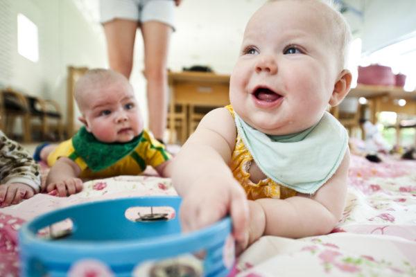 Tilfældigt billede af baby til babysalmesang