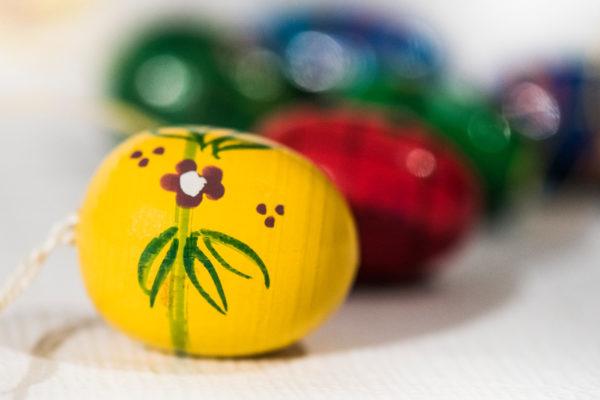 Billede af malede æg
