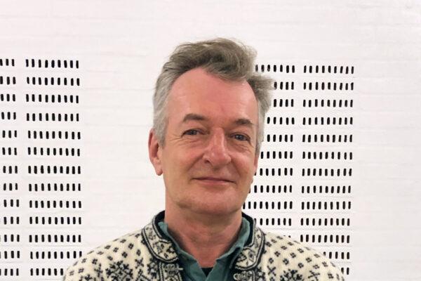 Billede af præst Søren E. Jensen