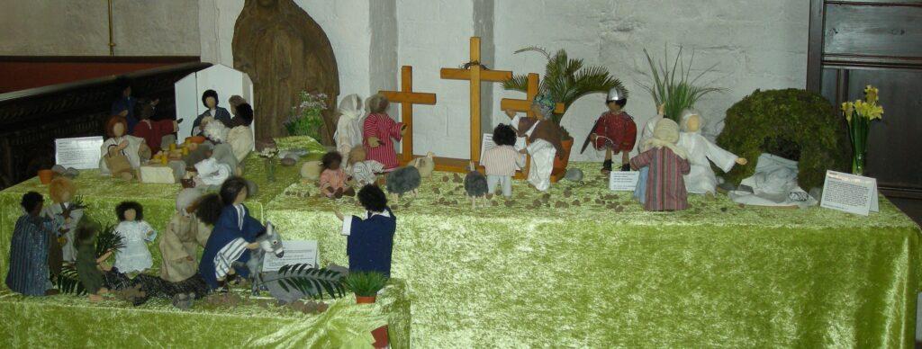 Bibelske figurer i Hvalsø Kirke