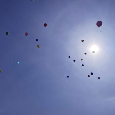 Balloner i luften